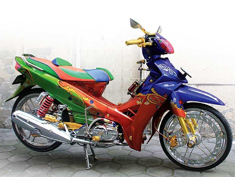 Yamaha Vega R 05 Bogor Nyentrik Bikin Gemes