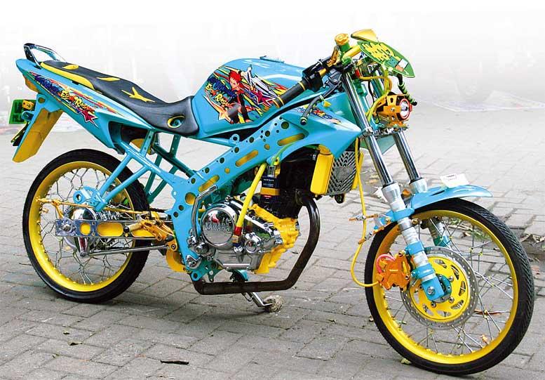 Yamaha V Ixion 09 Sidoarjo Blue Racing