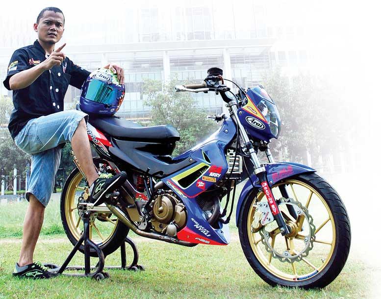 Suzuki Satria Fu 13 Jakarta Modif Ok Balap Yes