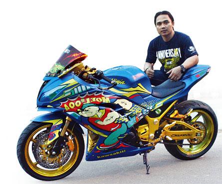 Kawasaki Ninja 250 Fi Abs Se 15 Sumenep Imbas Si Popeye