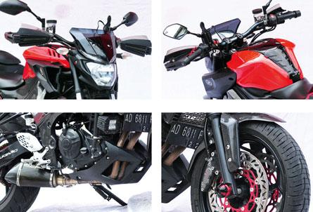 Yamaha Mt25 15 Jogjakarta Stylish Street Touring