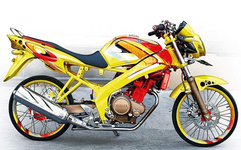 Yamaha New V Ixion 2011 Surabaya Harmonis Street Racing