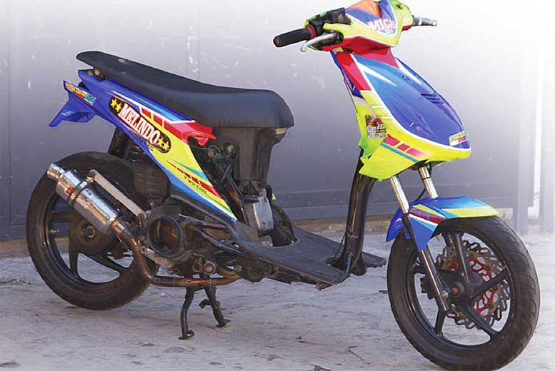Honda Beat Sampang Korekan Menengah Atas